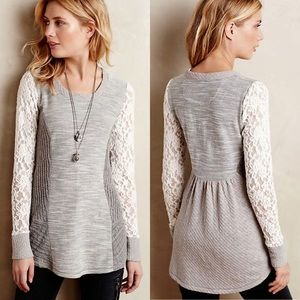 Anthropologie Saturday Sunday Graylace Pullover